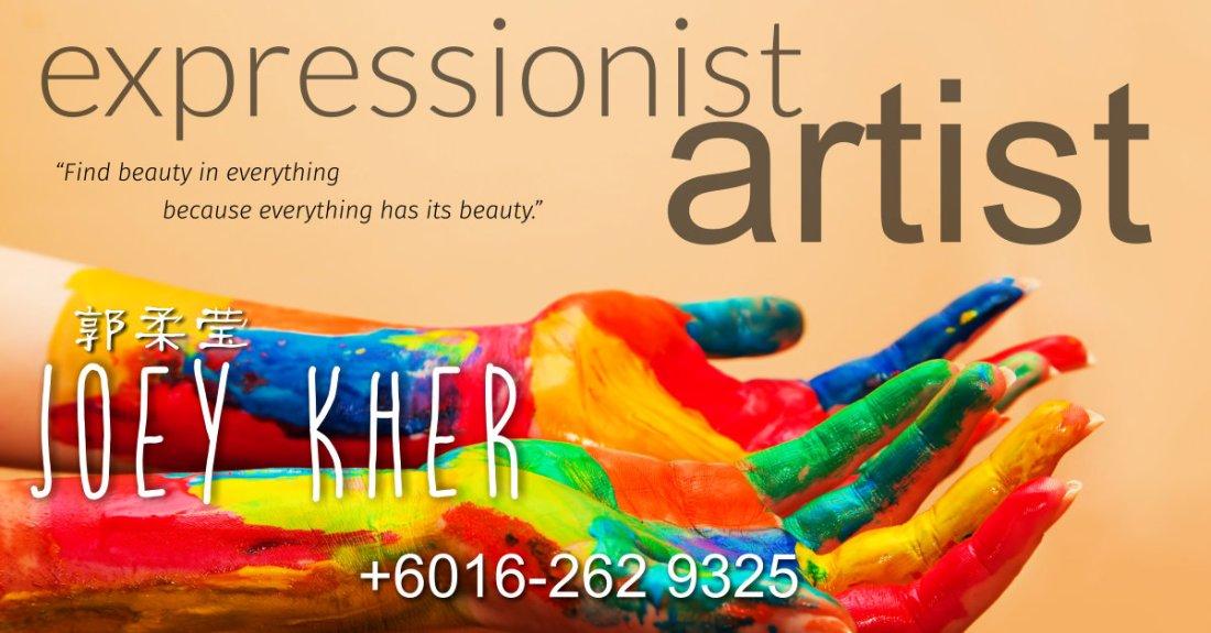 expressionist artist Joey Kher - Viana Academy of Art