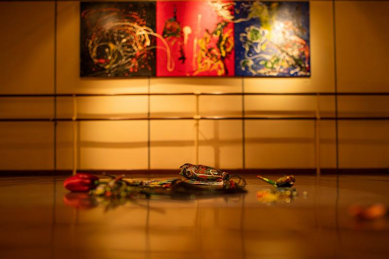 "Batik Art Installation ""Everything Has its Beauty"" 2015 by Joey Kher"