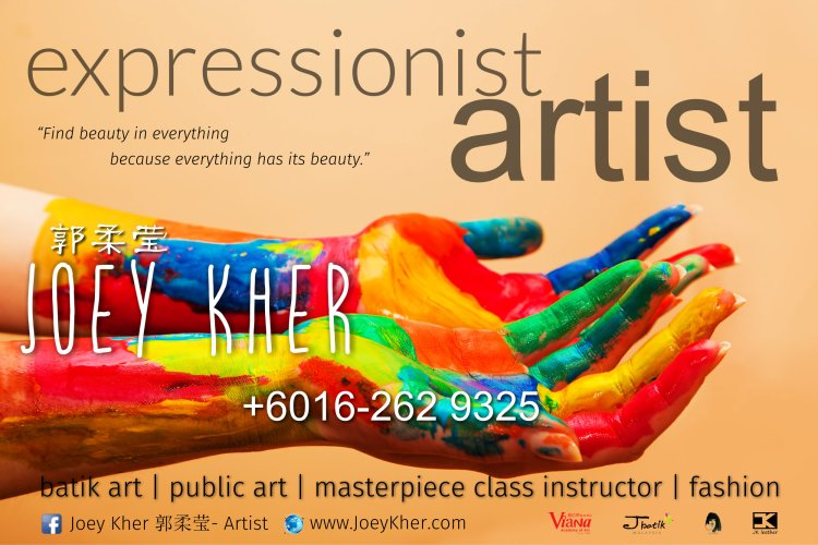 Joey Kher Artist J Batik Malaysia Contact Batu Pahat