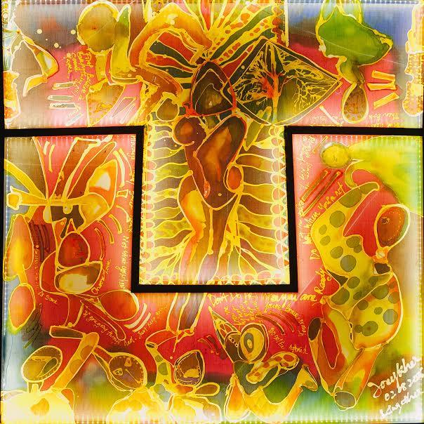 "Batik Art ""AoTu"" 2016 by Joey Kher"