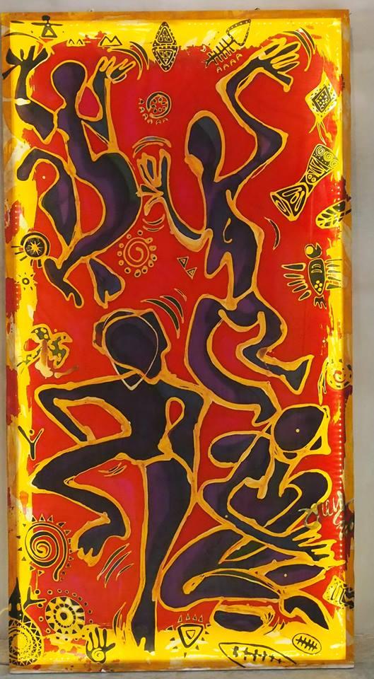 joey-kher-batik-aotu-exhibition-africa-dance-artwork-for-music-festival-batu-pahat