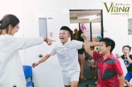 Edmund Seow 萧孝杰 Drama Tutor Trainer at Viana Academy of Art Batu Pahat Johor Malaysia 戏剧指导 峇株巴辖 维也纳艺术学院 柔佛 马来西亚