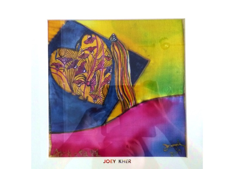 Joey Kher Artist Batik Painting Avitoa africa education2