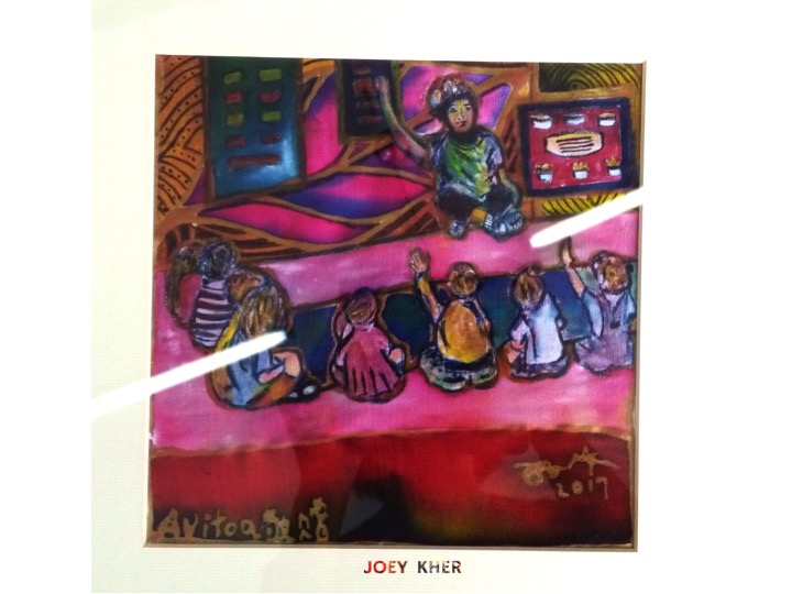 Joey Kher Artist Batik Painting Avitoa africa education3